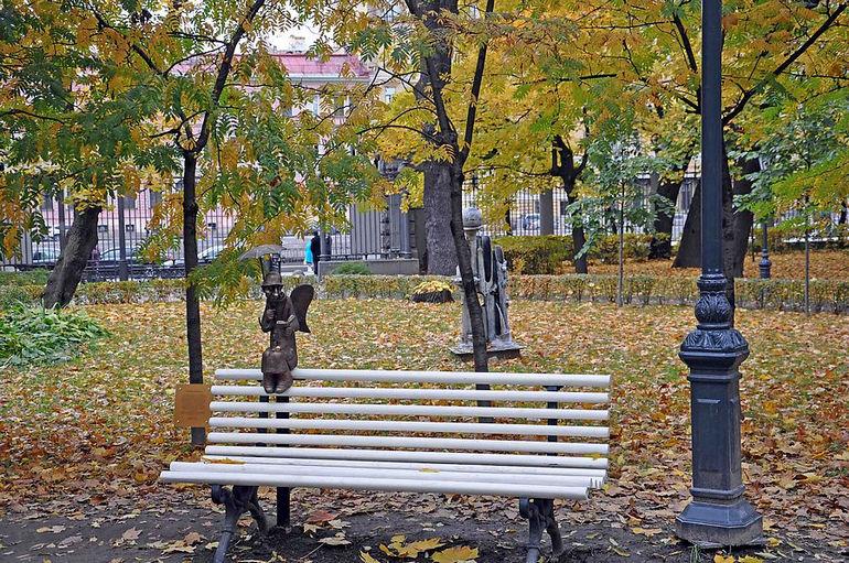 памятник Петербургский ангел