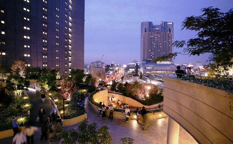 Намба парки в Осаке