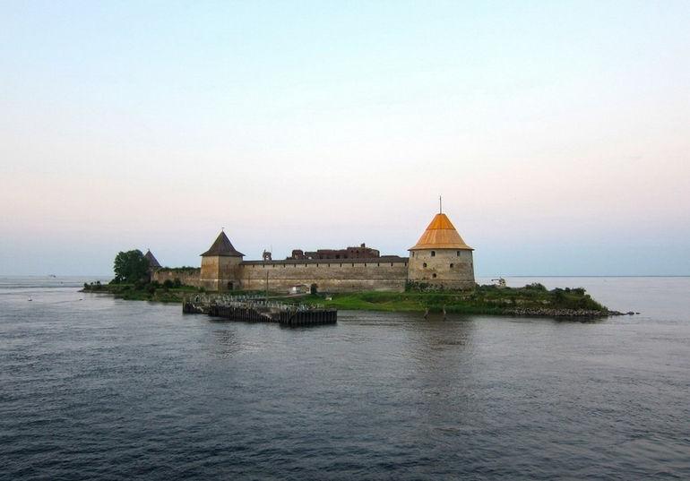 Крепость Орешек в Шлиссельбурге