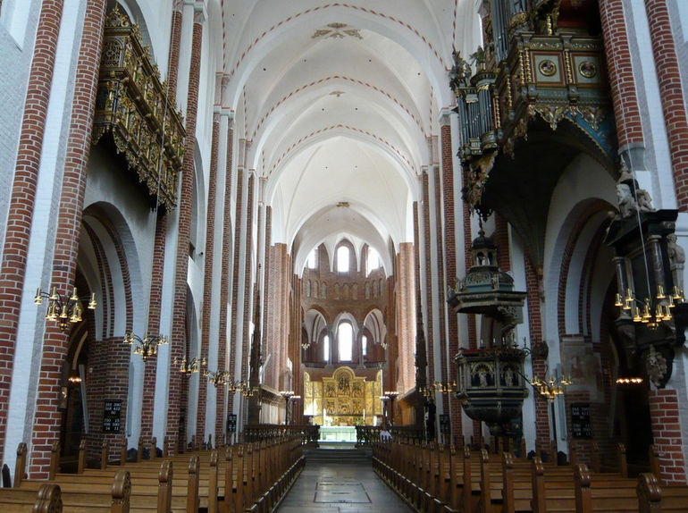 Собор Святого Луки в Роскилле