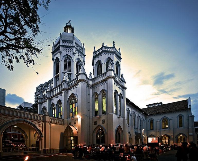 Церковь Святого Иосифа: первая католическая церковь в Сингапуре