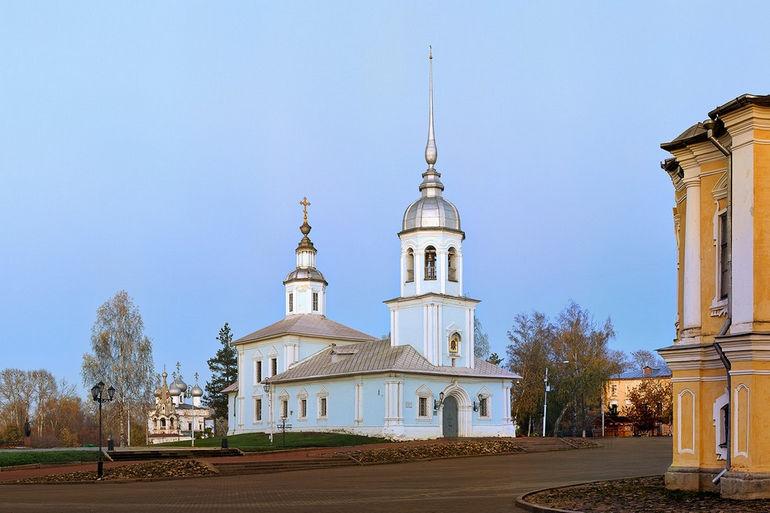 Церковь благоверного князя Александра Невского в Вологде