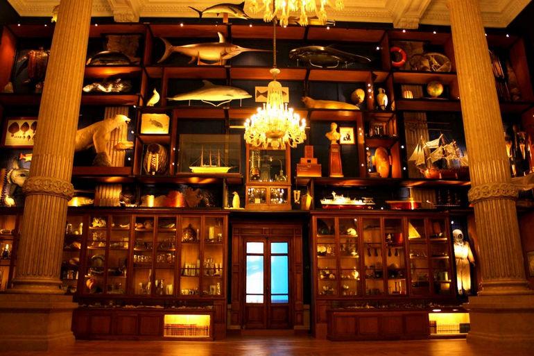 Океанографический музей в Монако