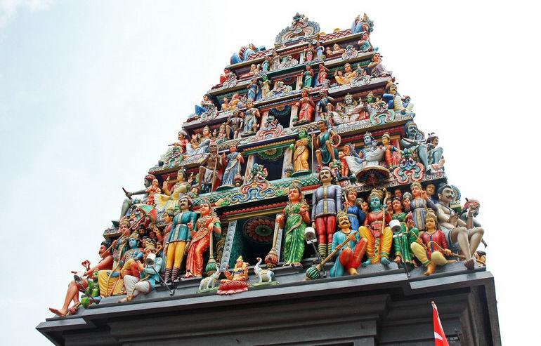 Шри Мариамман: индуистская святыня (Сингапур)