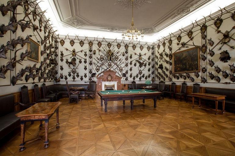 lovecký sál, Arcibiskupský zámek Kroměříž