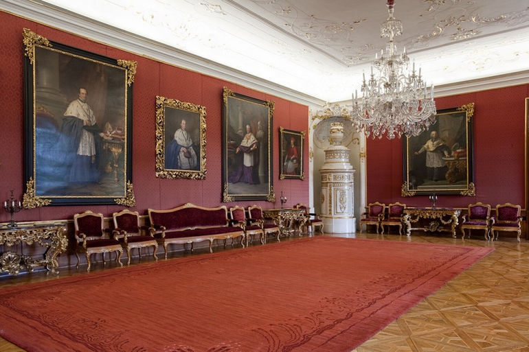 Poradní sál, Arcibiskupský zámek Kroměříž