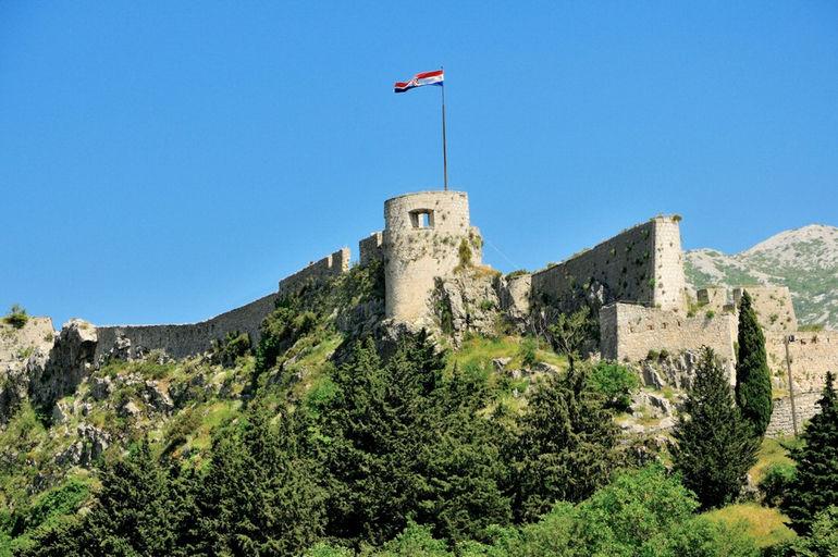Крепость Клис: самое мощное оборонительное сооружение Хорватии