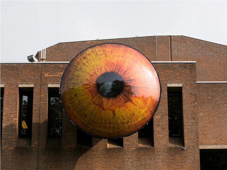 «Всевидящее Око» для городских жителей: арт-объект «EYE» (Бельгия)