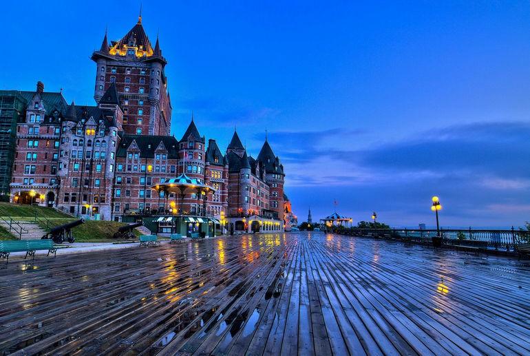 Гранд-отель Шато-Фронтенак: самый фотографируемый отель на планете (Канада)