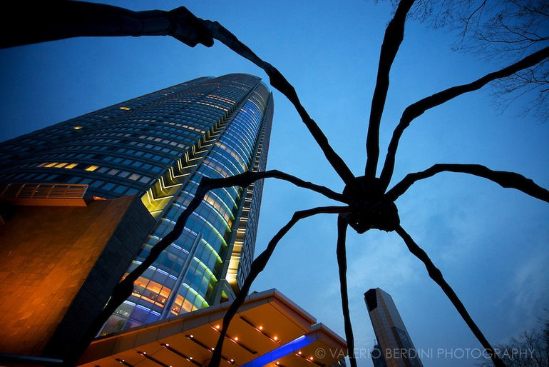 Maman-by-Louis-Bourgeois-Tokyo-Japan