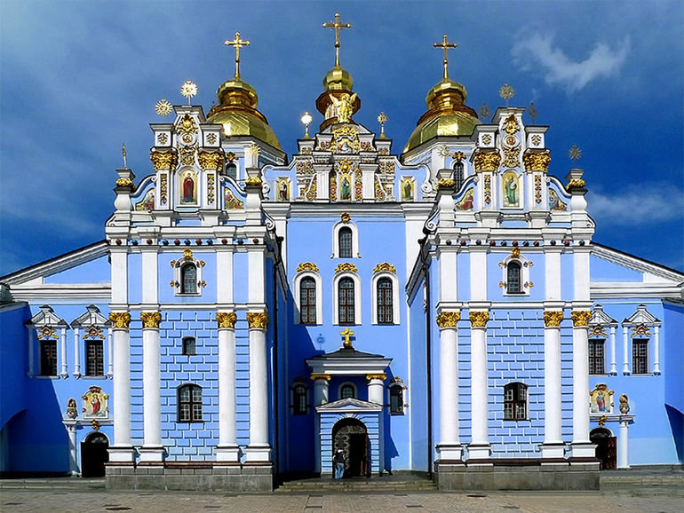 St_Michaels_Golden_Domed_Monastery