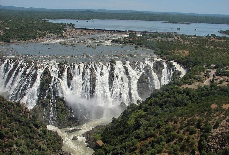 Водопад Руакана: природное чудо Африки (Ангола)