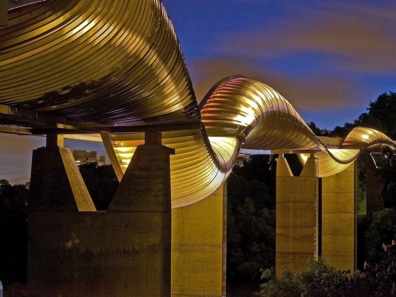 Мост «Волны Хендерсона»: самый высокий в Сингапуре