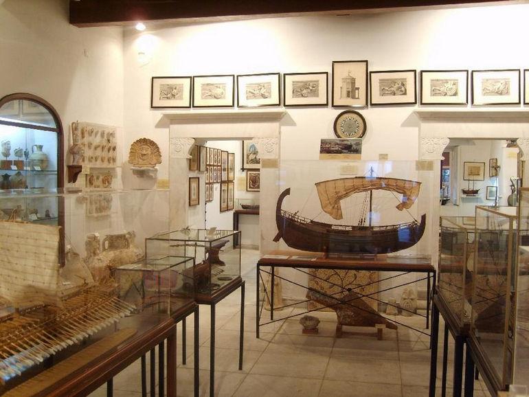 Музей Эгейского Моря в Миконосе (Греция)