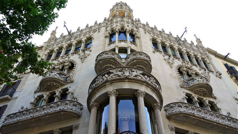 Дом Лео Морера в Барселоне (Испания)