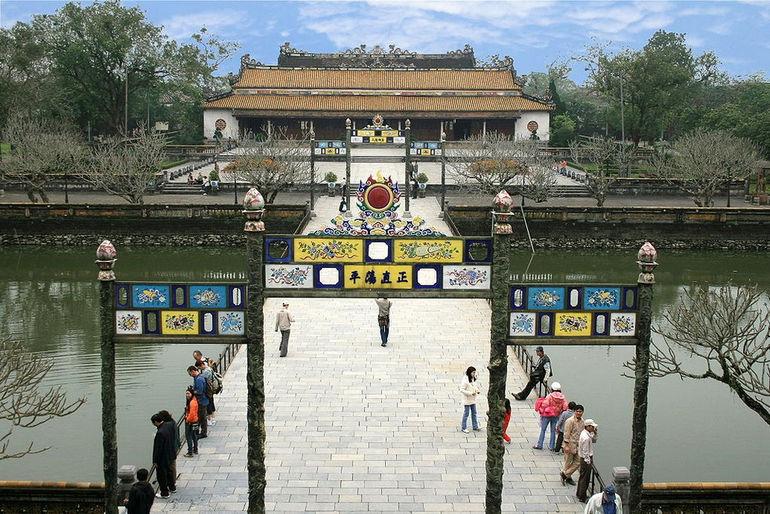 Дворец Высшей Гармонии в Хюэ (Вьетнам)