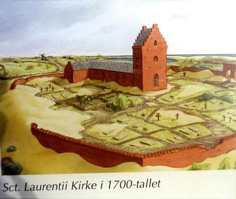 Den tilsandede kirke: засыпанная песком церковь (Дания)