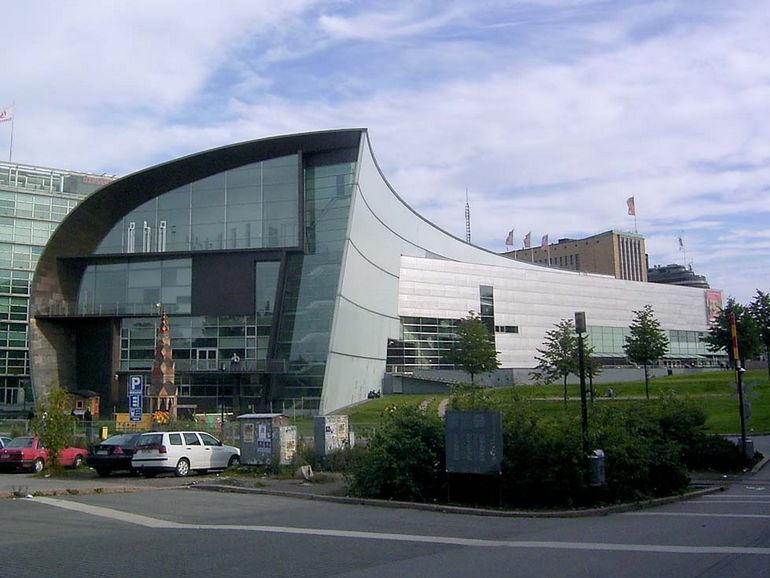 Музей современного искусства Киасма в Хельсинки (Финляндия)