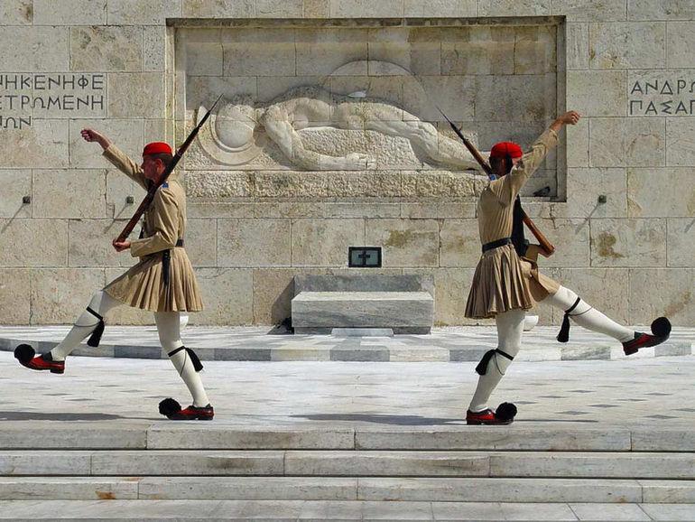 Синтагма: центральная площадь Афин (Греция)