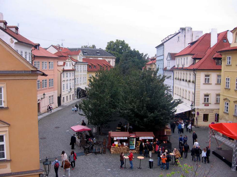 Остров Кампа в Праге (Чехия)
