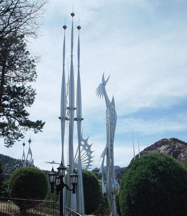 Кинетические скульптуры Старра Кемпфа (США)