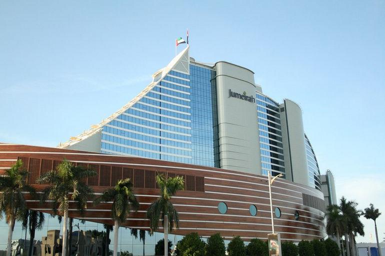 Jumeirah Beach Hotel в Дубай (ОАЭ)