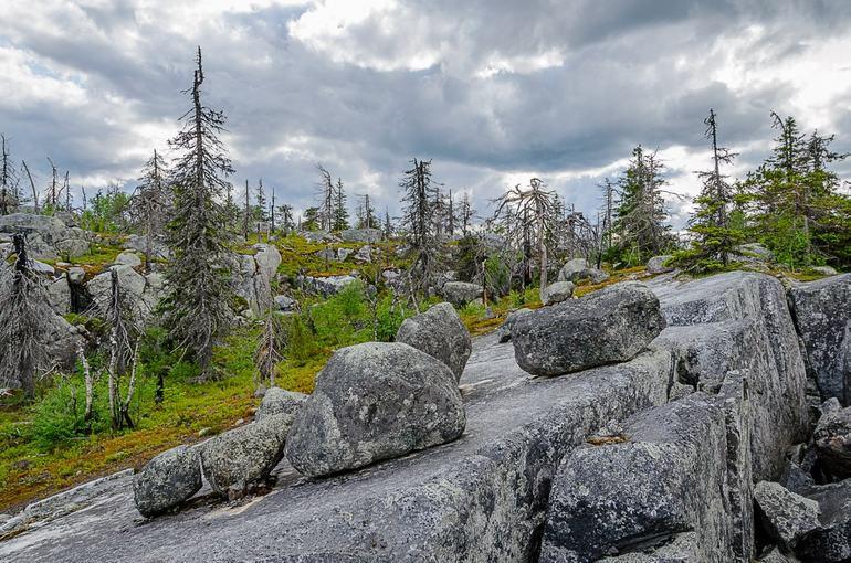 Таинственная гора Воттоваара в Карелии (Россия)