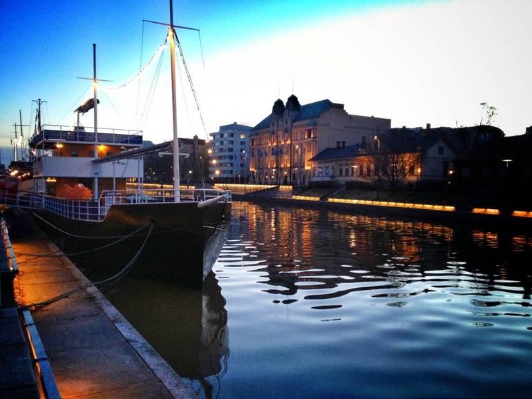 Морской порт Турку (Финляндия)