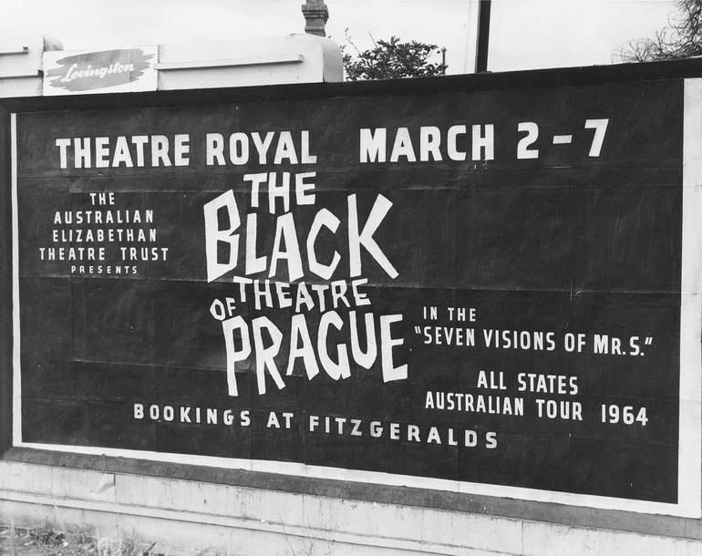 Черный театр в Праге (Чехия)