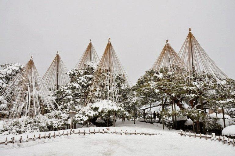 Юкицури: японские снегоулавливатели