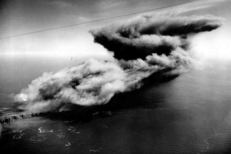 Остров Гельголанд и рекордный взрыв (Германия)