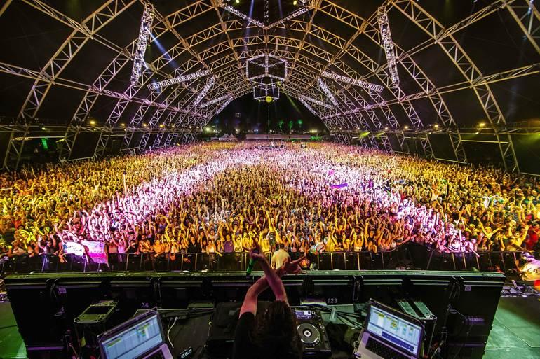 Фестиваль Коачелла в Индио (США)
