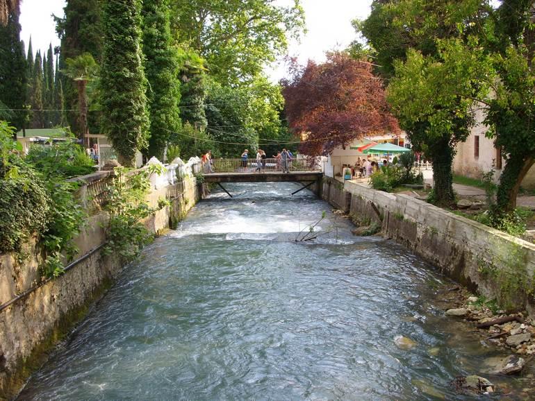 Город Новый Афон в Абхазии