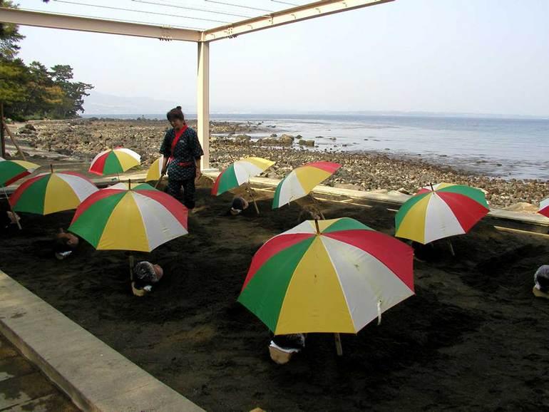 Песчаные ванны: уникальные спа-услуги в Японии