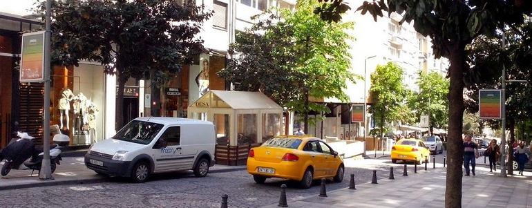 Район Нишанташи в Стамбуле (Турция)