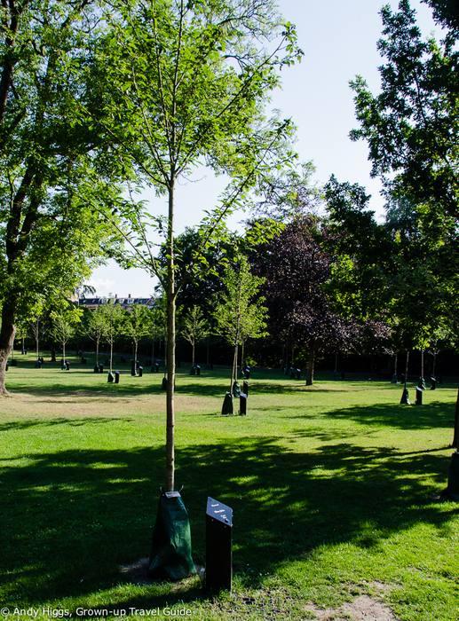 Kildeparken: парк поющих деревьев в Ольборге (Дания)