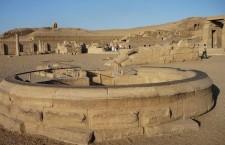 Нилометр: приспособление для измерения глубины Нила (Египет)