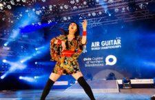 Чемпионат «воздушных» гитар в Финляндии