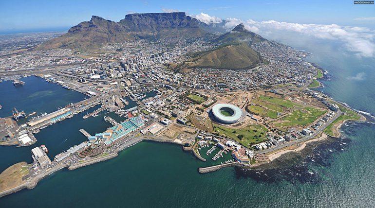 Знакомимся с ЮАР: Кейптаун