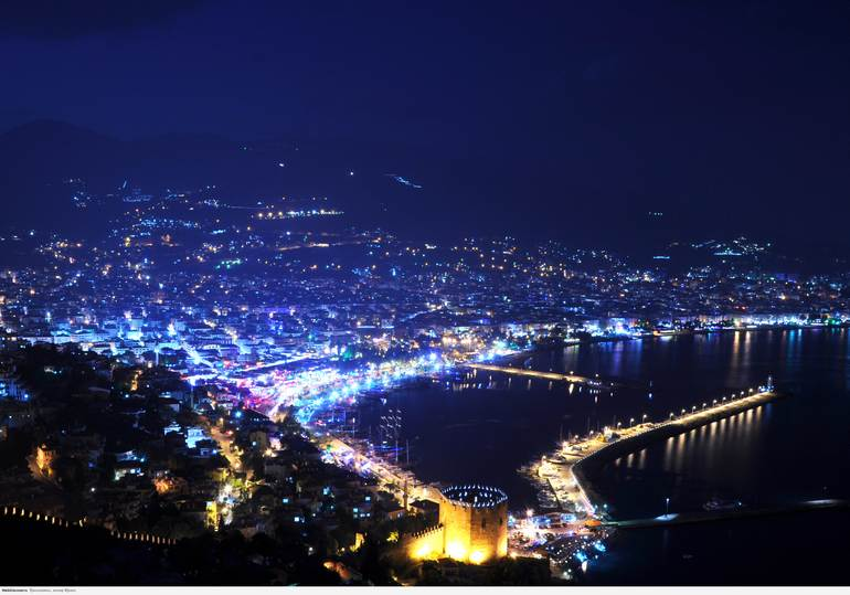 Турецкий городок Алания