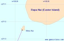 «Точка Немо»: самое отдаленное место от суши (Тихий океан)