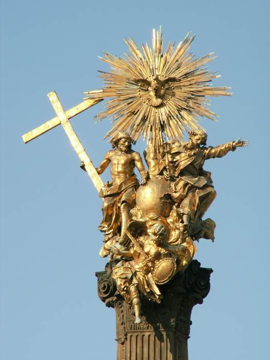 Колонна Пресвятой Троицы в Оломоуце (Чехия)