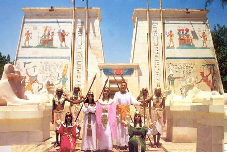 Деревня фараонов в Каире (Египет)