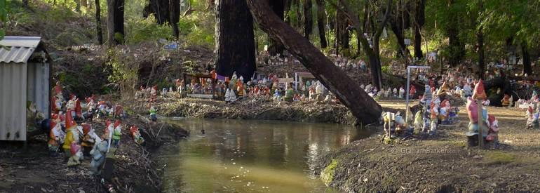 Гномсвиль: город, где поселились гномы (Австралия)