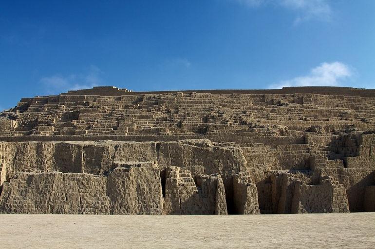 Археологический комплекс Уака Пукльяна в Лиме (Перу)