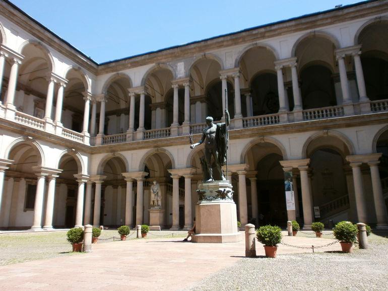 Пинакорета Брера в Милане (Италия)
