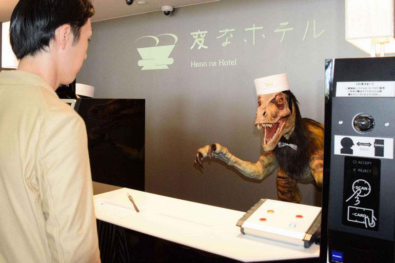 Henn-na: отель с роботами в Токио (Япония)