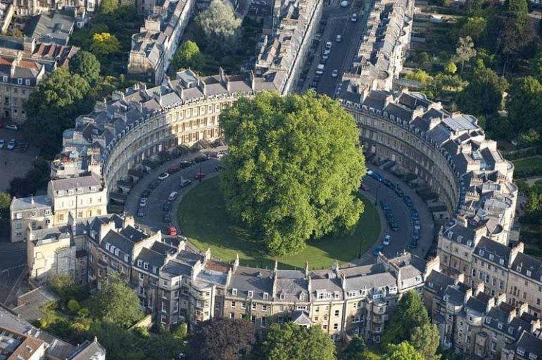 Батский Цирк: шедевр английской архитектуры (Великобритания)