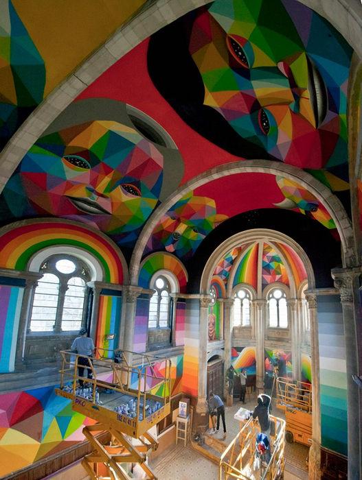 Церковь, превращенная в скейт-парк (Испания)