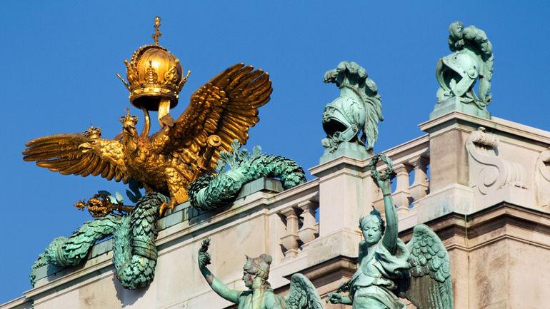 Дворцовый комплекс Хофбург в Вене (Австрия)